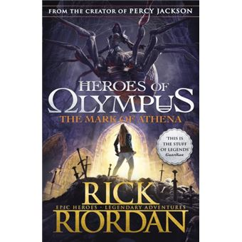 Heroes of Olympus - Book 3: The Mark of Athena