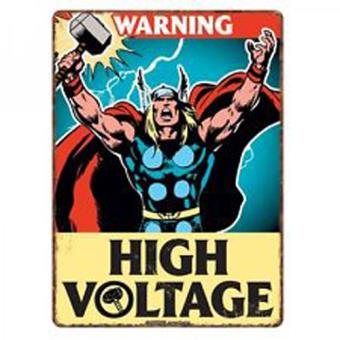 METAL SIGN-MARVEL-THOR (A5)