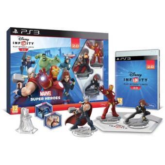 Disney Infinity 2.0 - Marvel Superheroes Starter Pack PS3