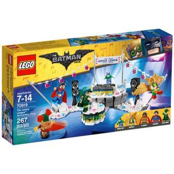 LEGO The Batman Movie 70919 A Festa de Aniversário da Liga da Justiça