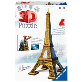 Puzzle 3D Torre Eiffel - 216 Peças
