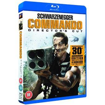 Commando: Director's Cut - Blu-ray Importação