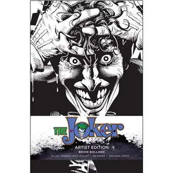 Caderno Pautado DC Comics - Joker Artist Edition A5