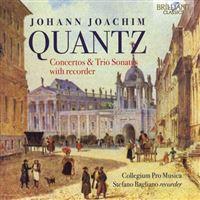 Concertos and Sonatas with Recorder - CD