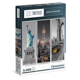 Puzzle New York (3 x 500 Peças)