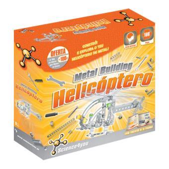 Metal Building Helicóptero