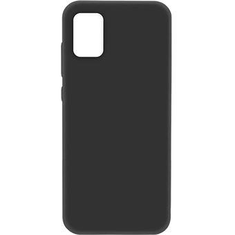 Capa 4-OK Slim Colors para Samsung Galaxy A51 - PretoCapa 4-OK Slim Colors para Samsung Galaxy A51 - Preto