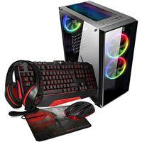 Desktop Gaming Primux Iox PC870 | R5-2600 + Teclado + Rato + Auscultadores