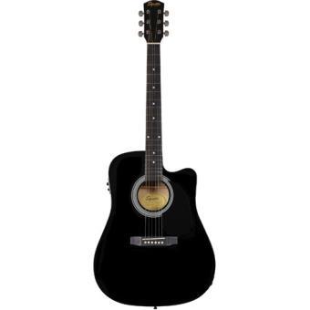 Guitarra Electro-Acústica Squier SA-105CE Black