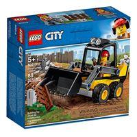 LEGO City Great Vehicles 60219 Trator-Carregador da Construção