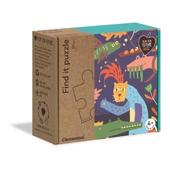 Find It Puzzle - Confusão na Selva