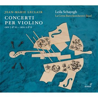 Jean-Marie Leclair: Concerti per Violino - CD