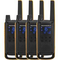 Walkie-Talkie Motorola TALKABOUT T82 Extreme Quad - Preto | Amarelo