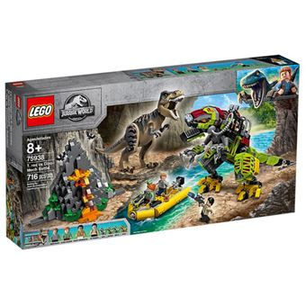 LEGO Jurassic World 75938 Combate T-Rex vs Robô Dinossauro
