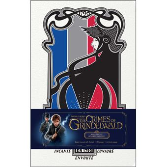 Caderno Pautado Fantastic Beasts: The Crimes of Grindelwald - Ministère des Affaires Magiques A5