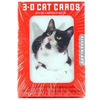 Baralho Cartas Lenticular Cats - Kikkerland