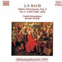 BACH-SUITES (OVERTURES)-VOL.2