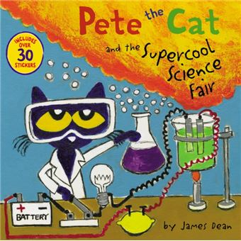 Pete the cat and the supercool scie
