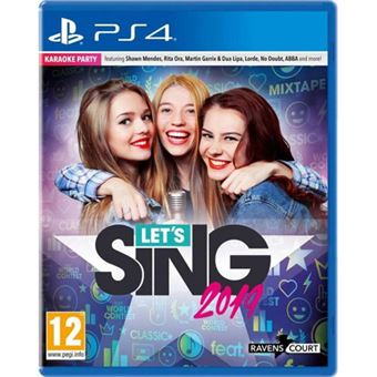 Let's Sing 2019 + 1 Microfone - PS4