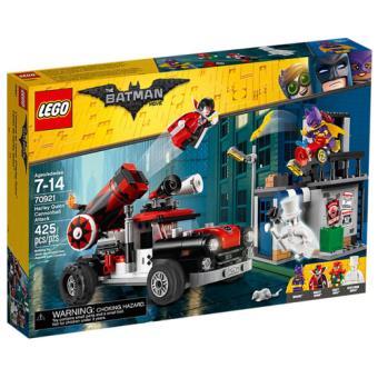 The LEGO Batman Movie 70921 O Ataque de Bala de Canhão de Harley Quinn