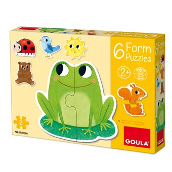 6 Form Puzzles