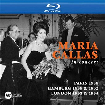 Callas in London, Hamburg & Paris - 3 Blu-ray