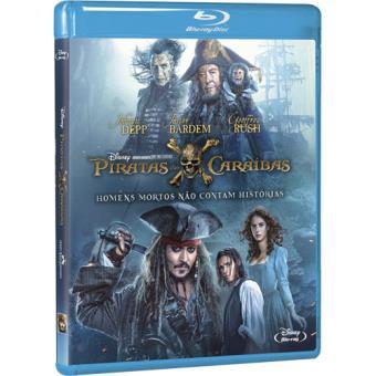 Piratas das Caraíbas: Homens Mortos Não Contam Histórias (Blu-ray)