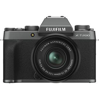 Fujifilm X-T200 + XC 15-45mm f/3.5-5.6 OIS PZ - Dark Silver
