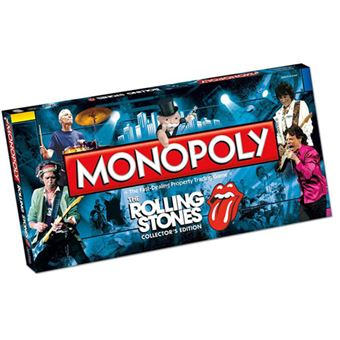 Monopoly Rolling Stones - Winning Moves
