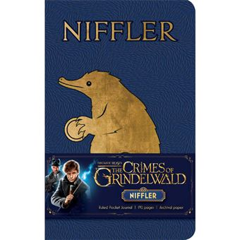 Caderno Pautado Fantastic Beasts: The Crimes of Grindelwald - Niffler Bolso