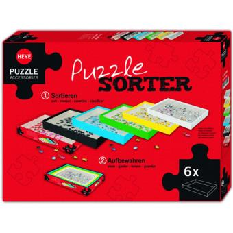 Puzzle Sorter - 6 Caixas Organizadores