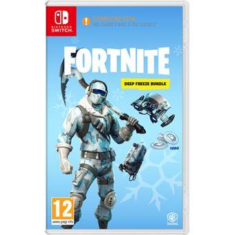 Fortnite: Deep Freeze Bundle Nintendo Switch - Code in a Box