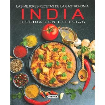 India cocina con especias