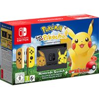 Consola Nintendo Switch Pokémon Let's Go, Pikachu  + Poké Ball Plus