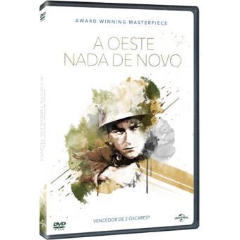 A Oeste Nada de Novo - DVD