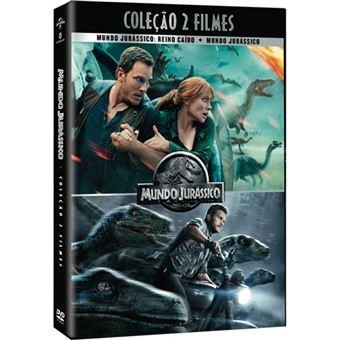 Pack Mundo Jurássico - Coleção 2 Filmes - DVD