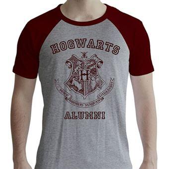 T-Shirt Harry Potter: Hogwarts Alumni - Tamanho S