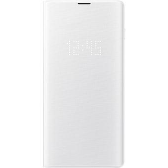 Capa Samsung Led View para Galaxy S10+ - Branco