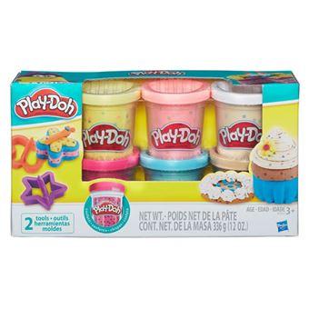 Play-Doh Confetti Pack 6 Potes - Hasbro