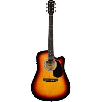 Guitarra Electro-Acústica Squier SA-105CE Sunburst