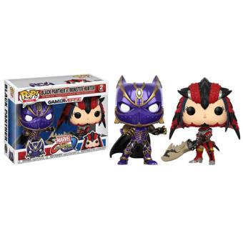 Funko Pop! Marvel vs Capcom: Black Panther vs Monster Hunter - 2