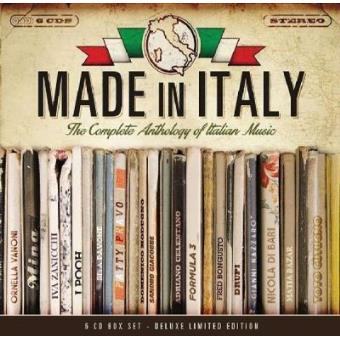 Made in Italy - An Anthology of Italian Music (6CD)
