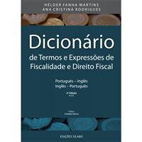Dicionário de Termos e Expressões de Fiscalidade e Direito Fiscal