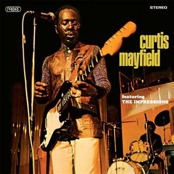 The Impressions feat. Curtis Mayfield - CD