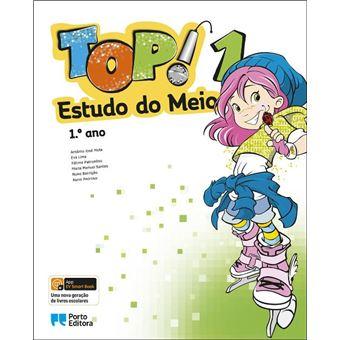 TOP! Estudo do Meio 1º Ano - Manual do Aluno