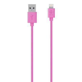 Belkin MIXIT? Lightning - USB 1.2m USB A Relâmpago Rosa cabo USB