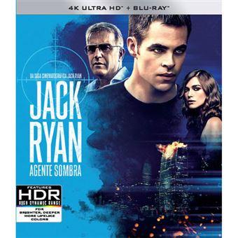 Jack Ryan: Agente Sombra - 4K Ultra HD + Blu-ray