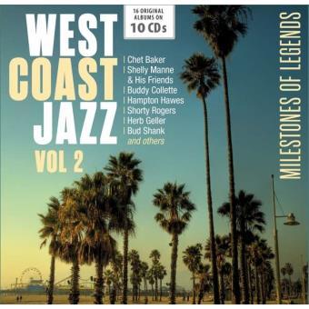 West Coast Jazz Vol. 2 | Milestones of Legends (10CD)