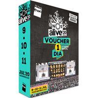 Fã Pack FNAC Nos Alive 2020 – Voucher Diário T-shirt S | Preço: 69€ Pack + 5.09€ Custos de Operação
