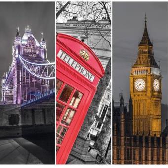Puzzle London (3 x 500 peças)